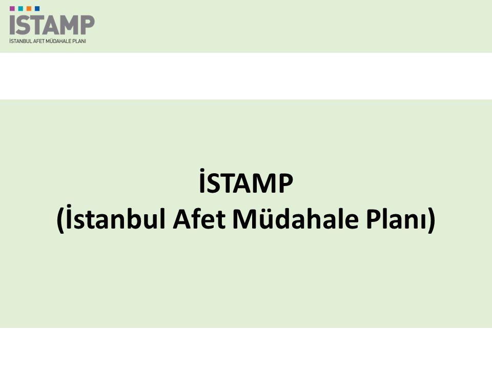  Mevzuat  İl Afet ve Acil Durum Koordinasyon Kurulu  Türkiye Afet Müdahale Planı (TAMP)  İstanbul Afet Müdahale Planı (İSTAMP) Sunum Planı