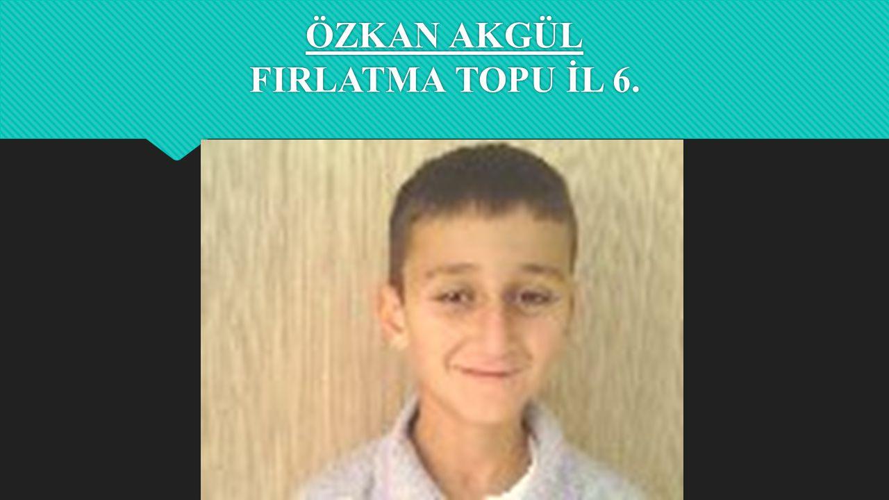 POLAT DEMİRTAŞ YÜKSEK ATLAMA İL 4.
