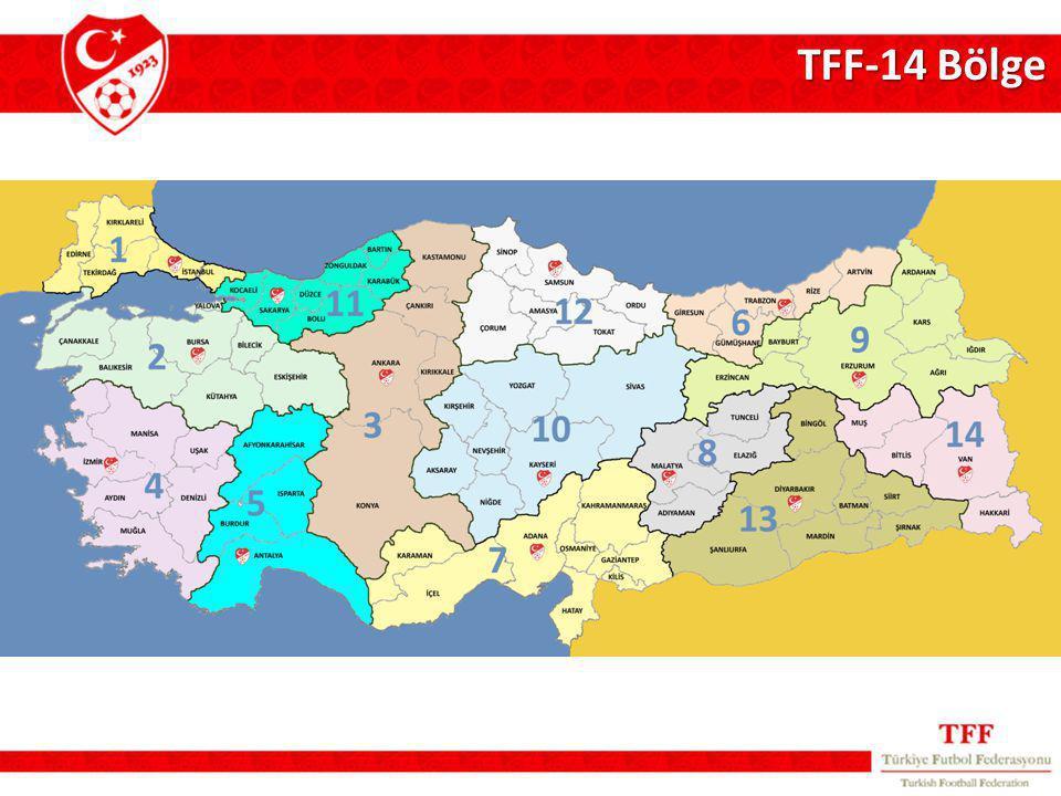 TFF-14 Bölge
