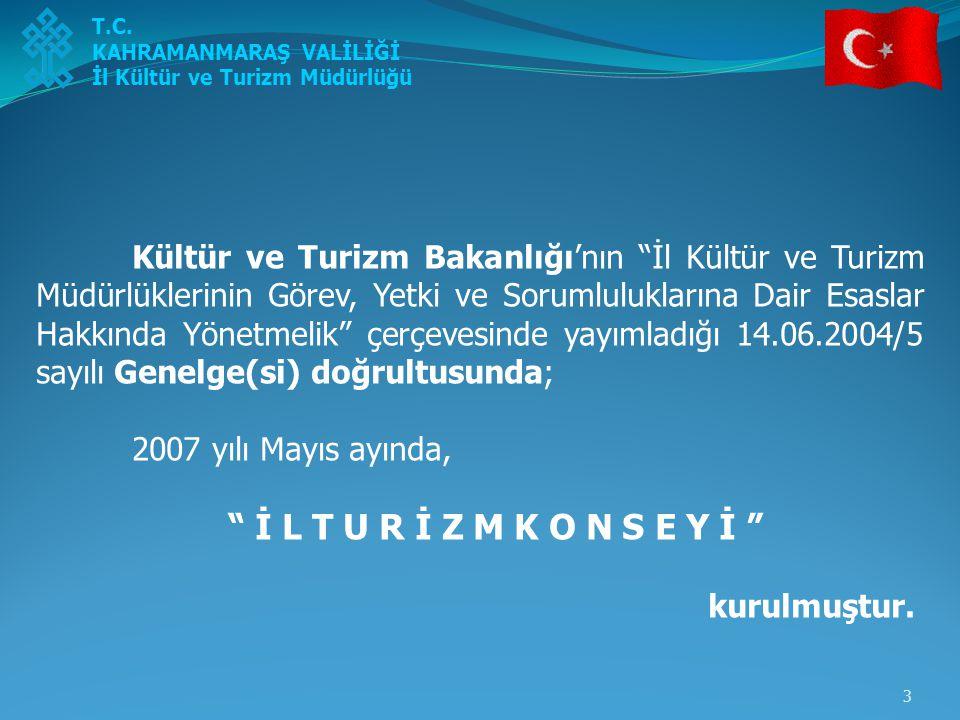 4 İl Turizm Konseyi; 2007 yılı Mayıs ayında ilk toplantısını yapmış olup, İl Kültür ve Turizm Müdürü Seydihan Küçükdağlı tarafından Türkiye Turizm Stratejisi-2023 doğrultusunda, İlimiz alternatif turizm değerlerini içeren bir sunum yapılmıştır.