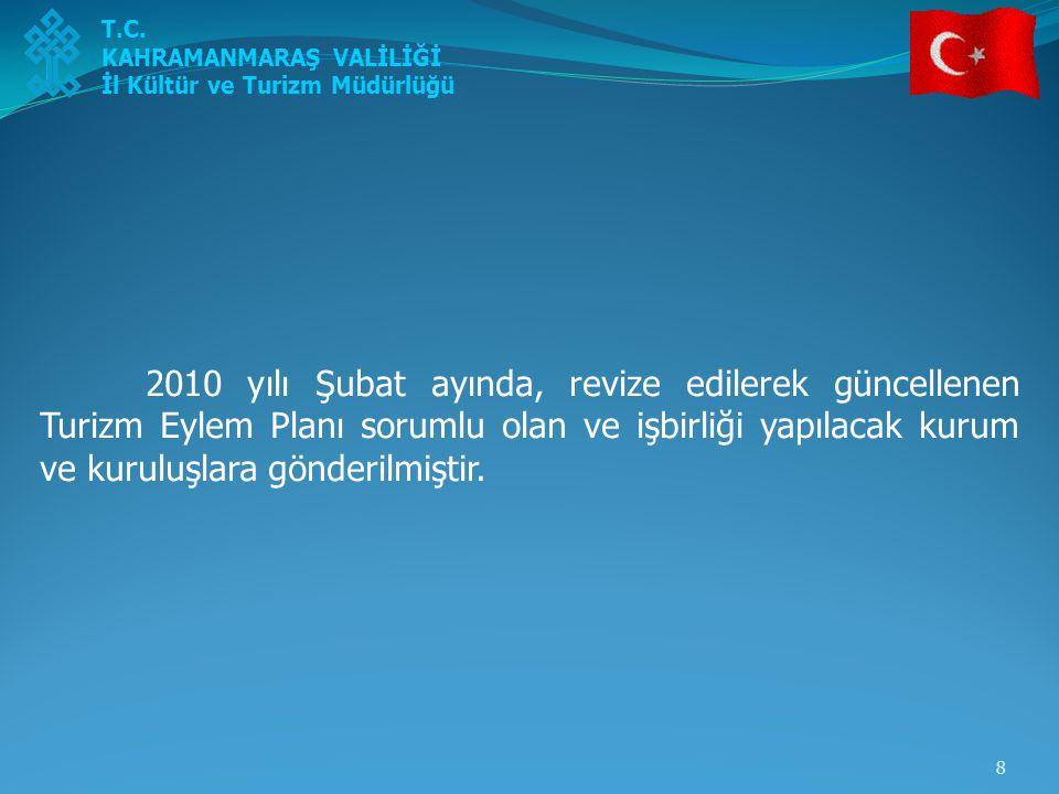 9 2011 yılı Ocak ayında, sorumlu kurum ve kuruluşlardan yapılan faaliyetlerle ilgili rapor istenmiştir.