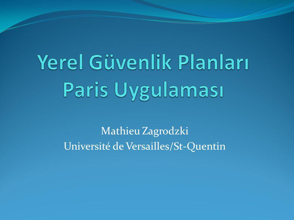 Mathieu Zagrodzki Université de Versailles/St-Quentin