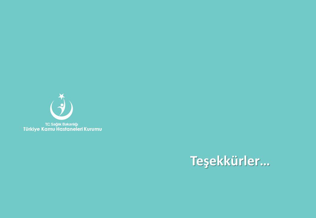 Teşekkürler… Türkiye Kamu Hastaneleri Kurumu