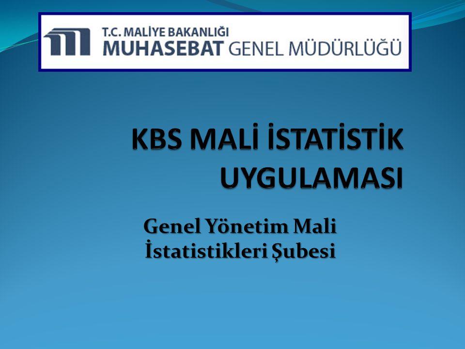 Genel Yönetim Mali İstatistikleri Şubesi