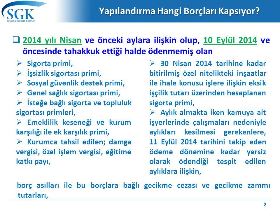 İl Özel İdareleri, Belediyeler ve Spor Kulüpleri  6111 sayılı Kanun kapsamında otuzaltı veya kırkiki ay taksit talebinde bulunan ve yapılandırması devam eden il özel idareleri, belediyeler ve bunlara bağlı müstakil bütçeli ve kamu tüzel kişiliğini haiz kuruluşlar ile Türkiye'de sportif alanda faaliyette bulunan spor kulüpleri, 6111 sayılı kanun kapsamındaki ödeme yükümlülüklerini yerine getiriyor olmaları halinde, 6111 sayılı kanun kapsamına giren borçları dışında kalan borçlarını yapılandırabileceklerdir.