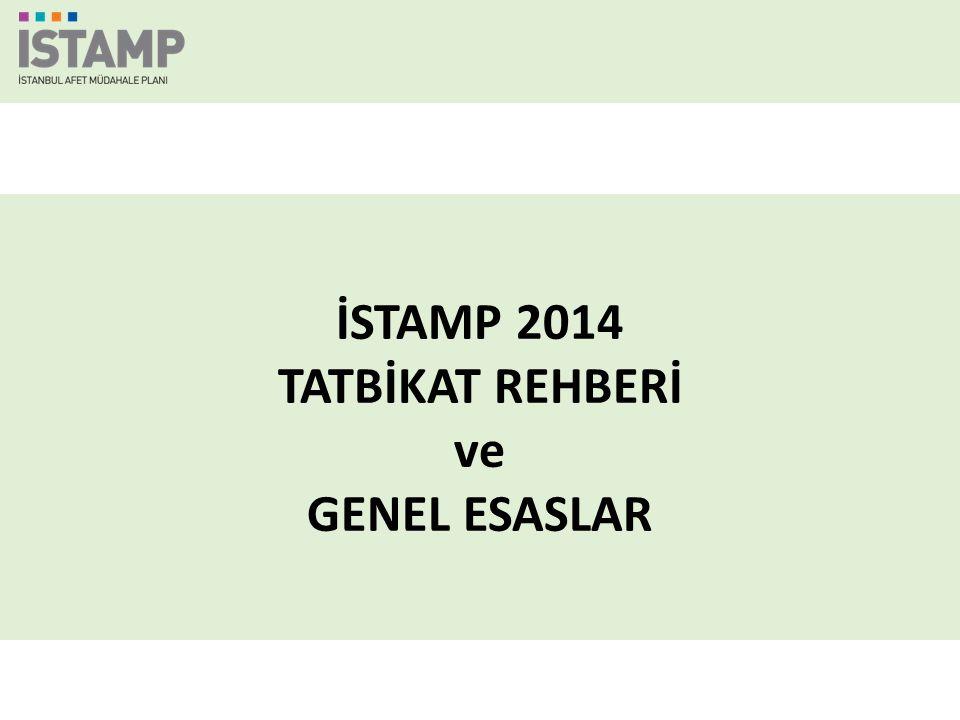 İSTAMP 2014 TATBİKAT REHBERİ ve GENEL ESASLAR