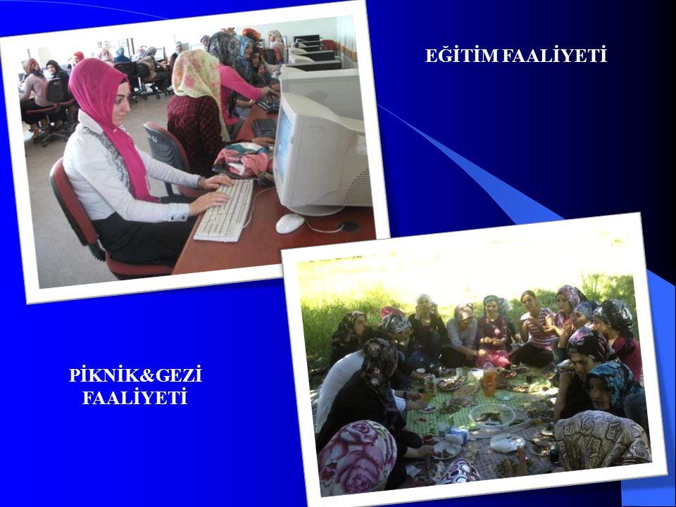 EĞİTİM FAALİYETİ PİKNİK&GEZİ FAALİYETİ