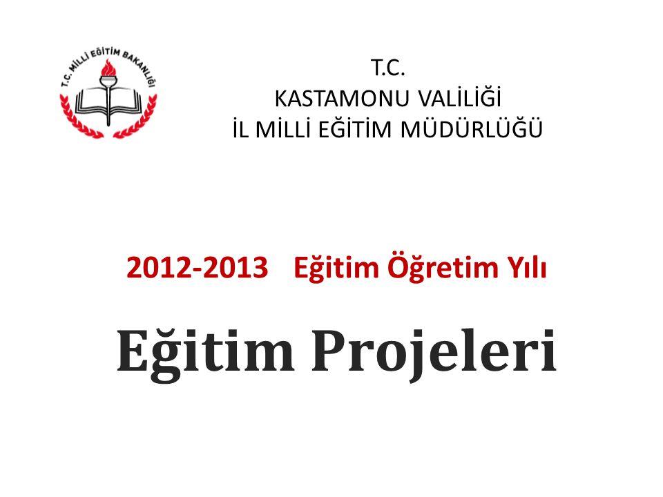 T.C.KASTAMONU VALİLİĞİ İL MİLLİ EĞİTİM MÜDÜRLÜĞÜ 2012-2013 Stratejik Eylem Planı 1.