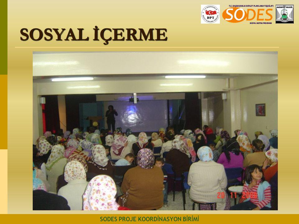 SOSYAL İÇERME SODES PROJE KOORDİNASYON BİRİMİ