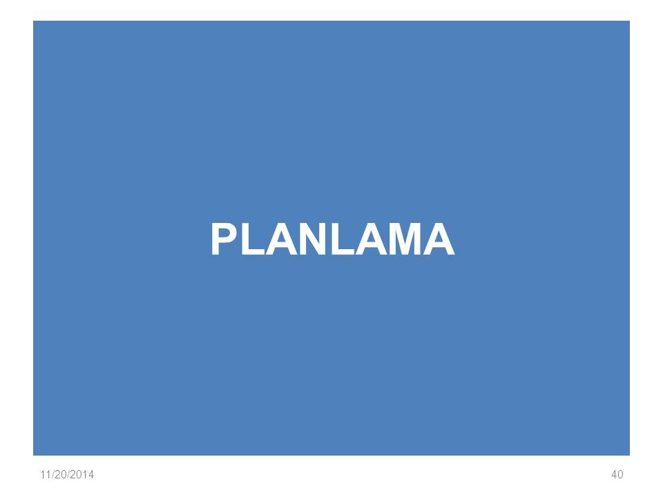 PLANLAMA 11/20/201440