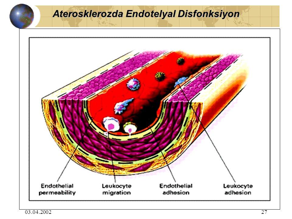 03.04.200227 Aterosklerozda Endotelyal Disfonksiyon