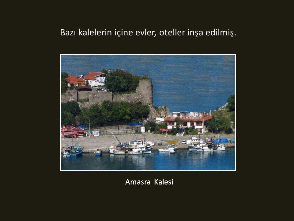 Ülkemizde kalkolitik çağdan Osmanlı dönemi sonuna kadar inşa edilen 300 civarında kale bulunmaktadır.
