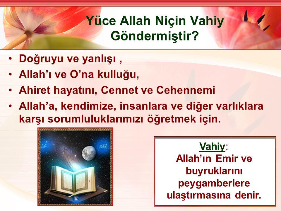 Kur'an-ı Kerim'in Genel Özellikleri Kur'an Allah'ın kelamıdır.