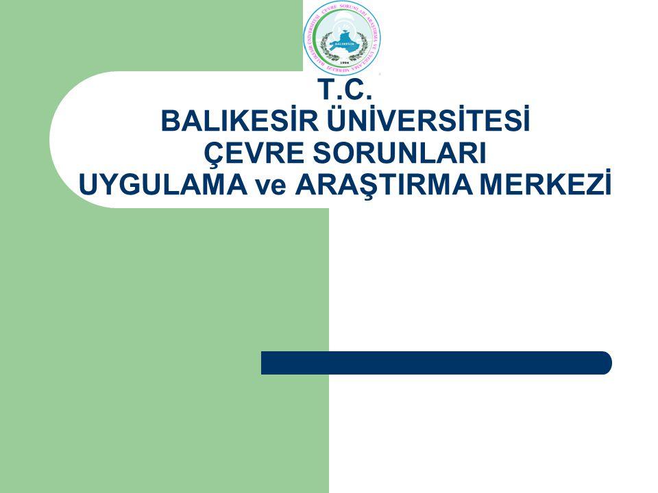 İLETİŞİM Çevre Sorunları Araştırma ve Uygulama Merkezi Balıkesir Üniversitesi Necatibey Eğitim Fakültesi Bahçesi BESYO Binası 1.