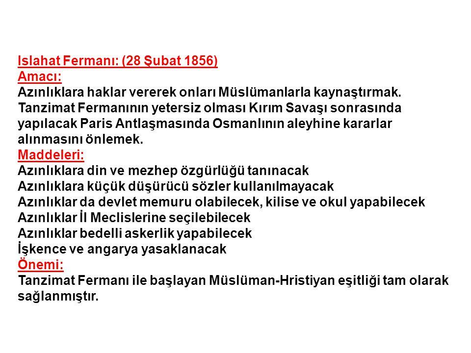 Osmanlı Devletinde Demokrasi Hareketleri: Tanzimat Dönemi:(1839-1876) 1839'da Tanzimat fermanının yayımlanmasından, 1876'da I.