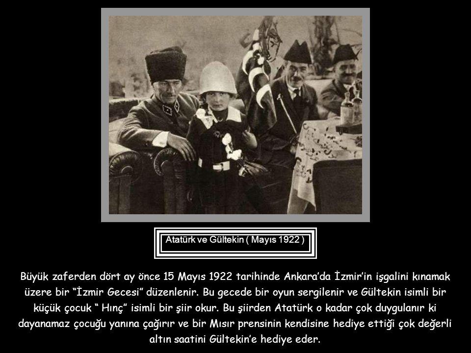 Mustafa Kemal, yurt gezilerinde kendisine kahramanlık şiirleri okuyan çocuklarla yakından ilgilenir, onlara sevgisini gösterir ve kimilerini değerli ö