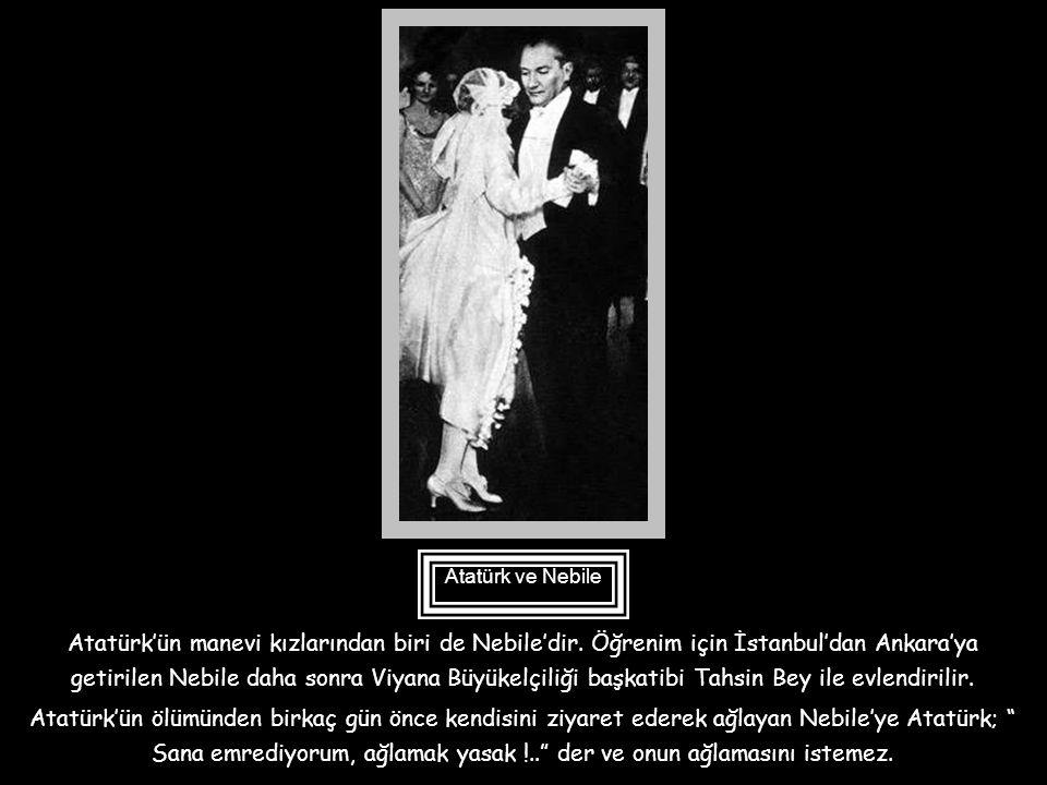 Atatürk'ün vasiyetnamesinde yer alan bir diğer çocuk da Afet İnan'dır. Daha sonra Prof. Olan Afet İnan Türk Tarih Kurumu'nun kurucu üyesi olup, bu kur