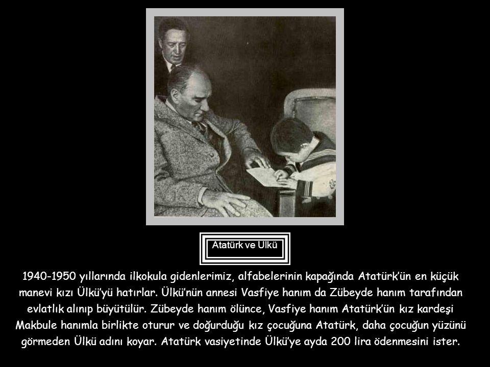 Atatürk'ün manevi kızlarından biri de Nebile'dir. Öğrenim için İstanbul'dan Ankara'ya getirilen Nebile daha sonra Viyana Büyükelçiliği başkatibi Tahsi