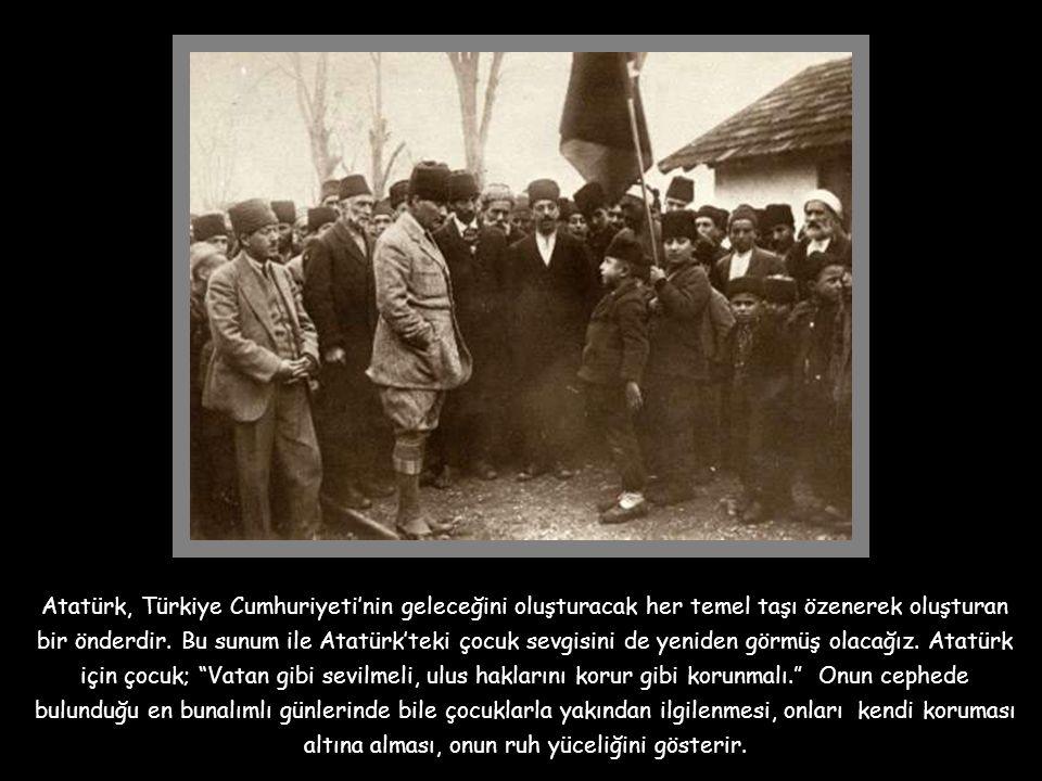 Büyük önder Atatürk'ü, bugüne kadar bir çok yönleriyle tanırız. Onun büyük bir asker, büyük bir devlet adamı olduğu defalarca dinlendi ve okundu. Bu d