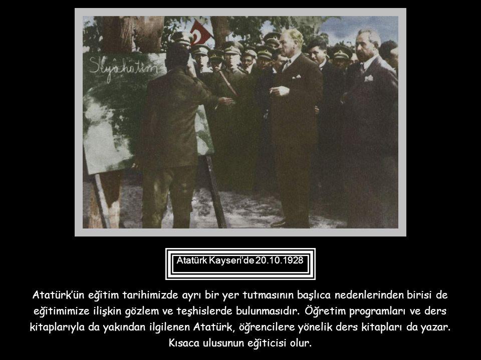 Atatürk Yalova'da karşılaştığı sığırtmaçlık yapan, Mustafa'nın kaderini değiştirerek onun Harp Okulunu bitirerek subay olmasını sağlar. Mustafa 15.01.