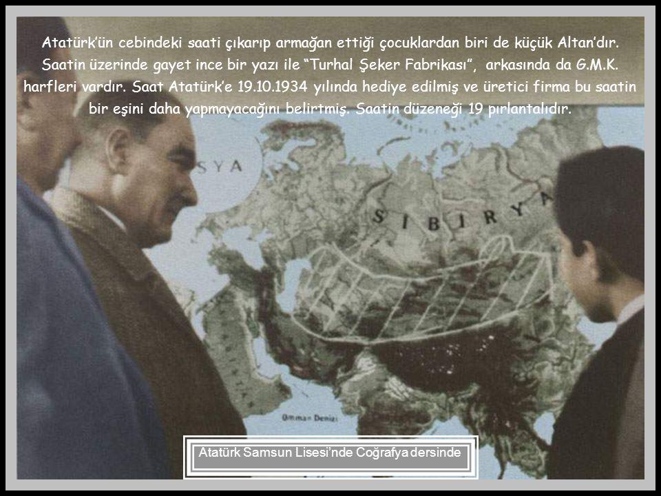 """Atatürk, bugün dilimizde """"koşut"""" olarak kullandığımız """"muvazi"""" kelimesinin yerine """"paralel"""" kelimesini kullanır ve bu kelimeyi açıklarken, Orta Asya'd"""