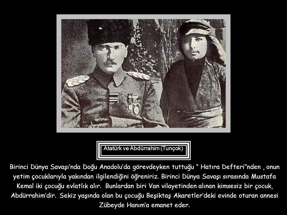 Atatürk, Türkiye Cumhuriyeti'nin geleceğini oluşturacak her temel taşı özenerek oluşturan bir önderdir. Bu sunum ile Atatürk'teki çocuk sevgisini de y