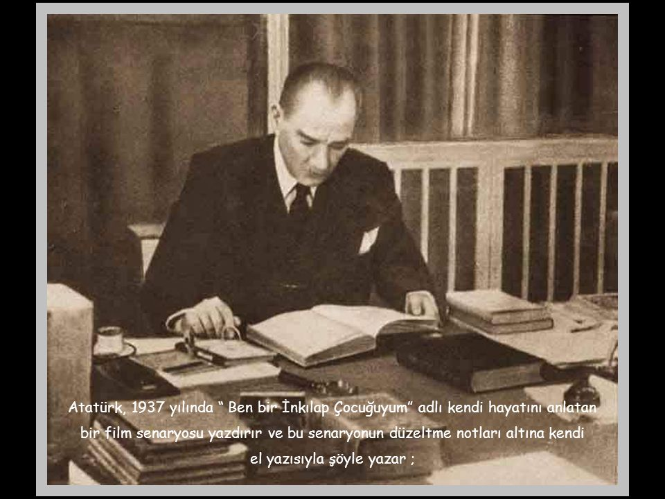 """Atatürk, 26 Mart 1937 tarihinde Ankara Halkevi'nde Bursalı öğrencilerin gecesine katılır. Burada gençler """" Dağ başını duman almış"""" adlı marşı söyler."""