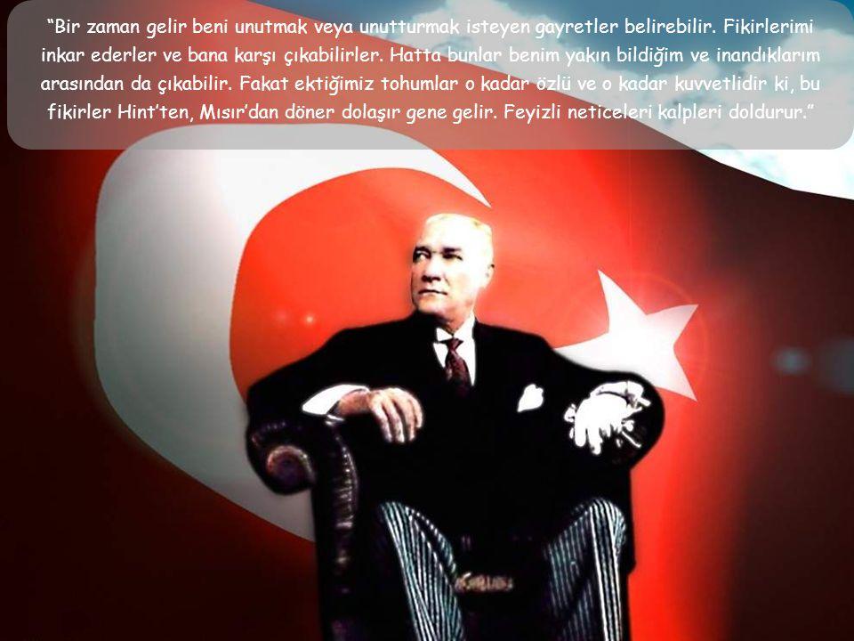 """Atatürk, 1937 yılında """" Ben bir İnkılap Çocuğuyum"""" adlı kendi hayatını anlatan bir film senaryosu yazdırır ve bu senaryonun düzeltme notları altına ke"""