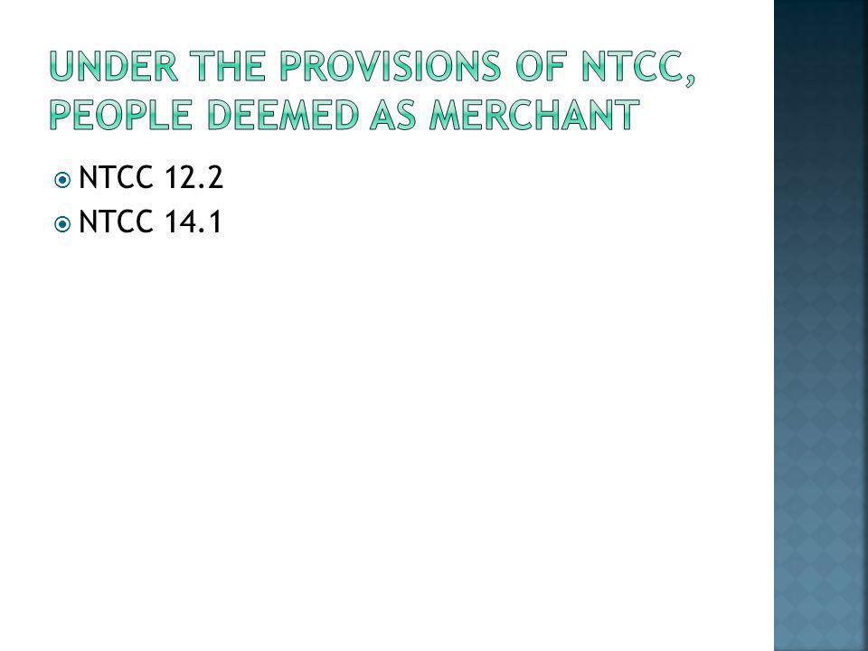  NTCC 12.2  NTCC 14.1