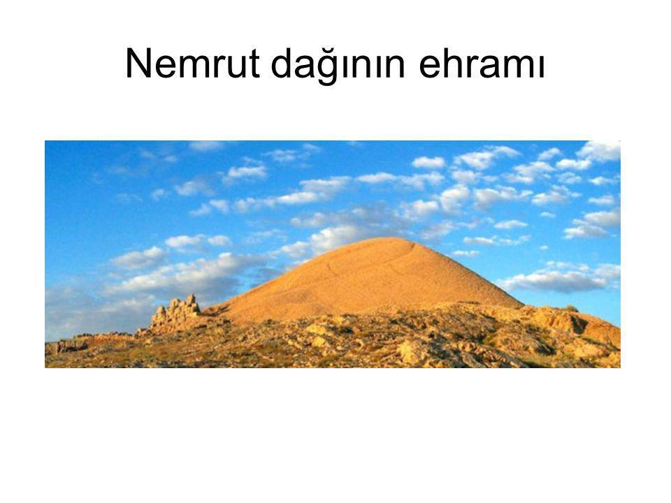 Nemrut dağının ehramı