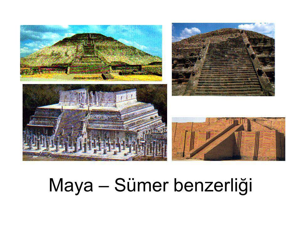 Maya – Sümer benzerliği