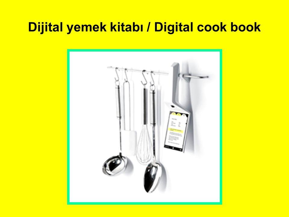 Dijital yemek kitabı / Digital cook book
