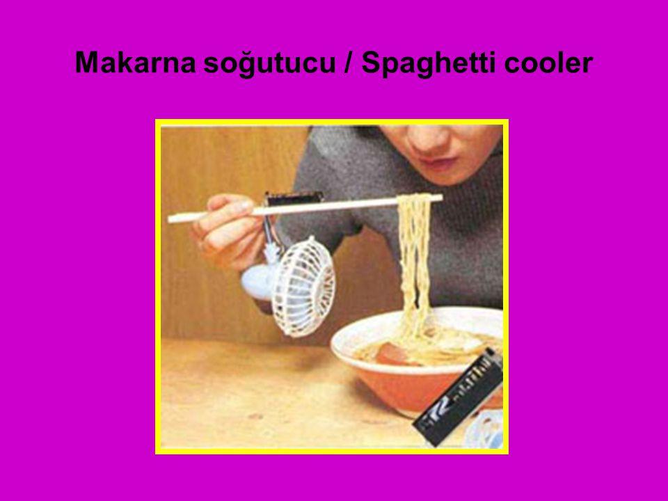 Makarna soğutucu / Spaghetti cooler
