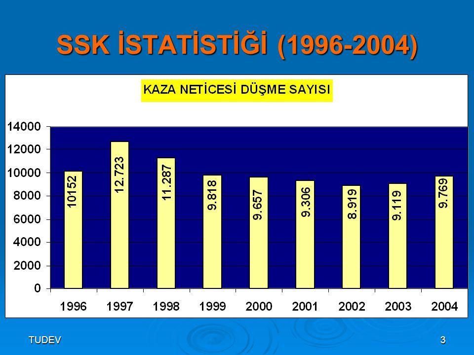 TUDEV3 SSK İSTATİSTİĞİ (1996-2004)