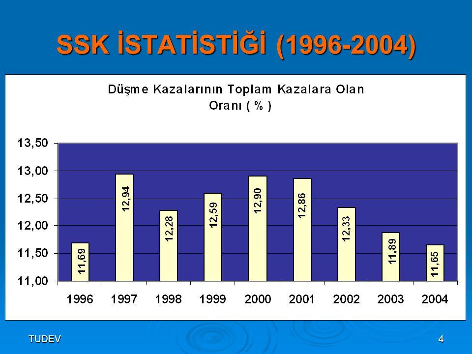 TUDEV4 SSK İSTATİSTİĞİ (1996-2004)