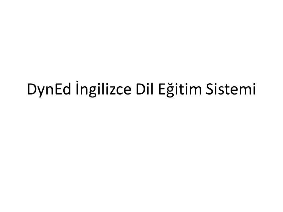 DynEd İngilizce Dil Eğitim Sistemi