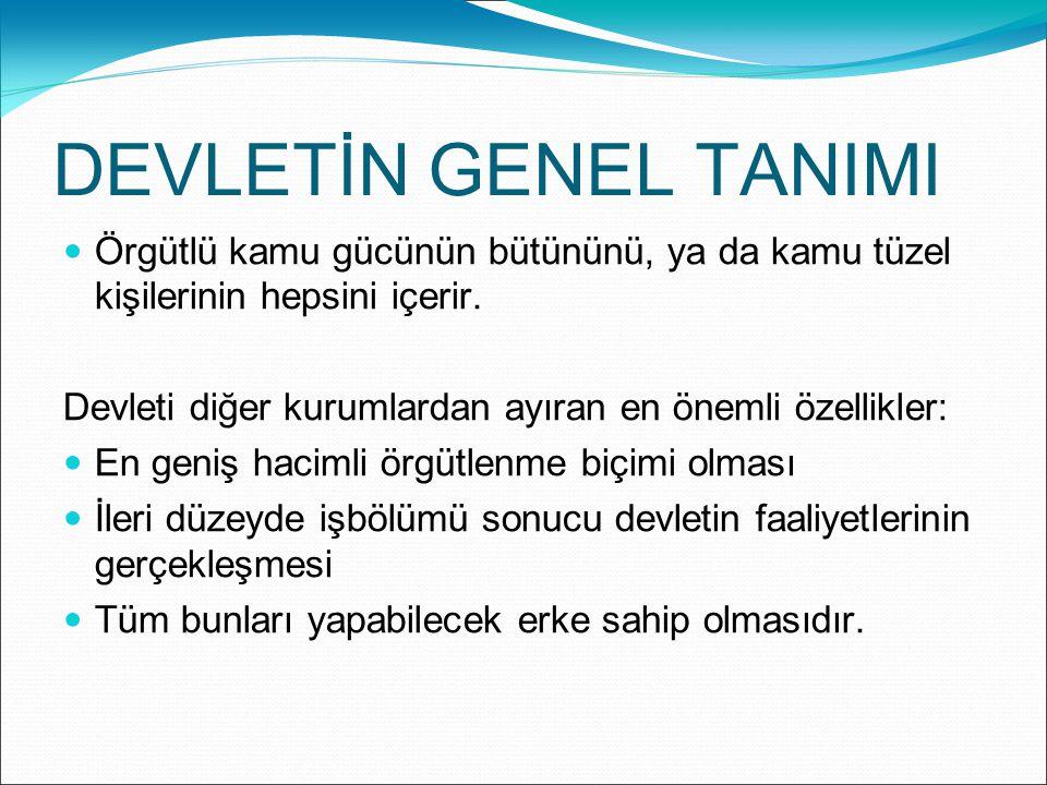 Türkiye Cumhuriyeti Anayasası Anayasa Hukuku devletin şeklini, organlarının görev ve yetkilerini, bunların birbirleri ile ilişkilerini, kişilerin temel hak ve özgürlüklerini düzenleyen hukuk kurallarının bütünüdür.