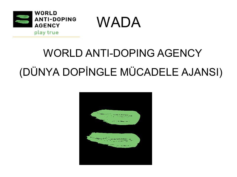 Doping kontrol için idrar verir.İdrar yoğunluğu çok düşük olduğu için 2.
