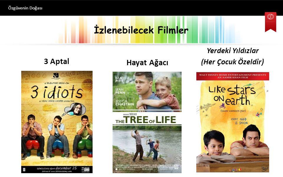 İzlenebilecek Filmler Özgüvenin Doğası 3 Aptal Hayat Ağacı Yerdeki Yıldızlar (Her Çocuk Özeldir)