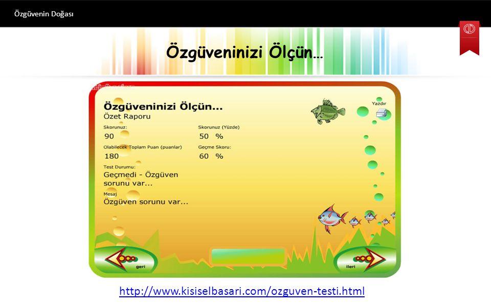 Özgüvenin Doğası Özgüveninizi Ölçün… http://www.kisiselbasari.com/ozguven-testi.html