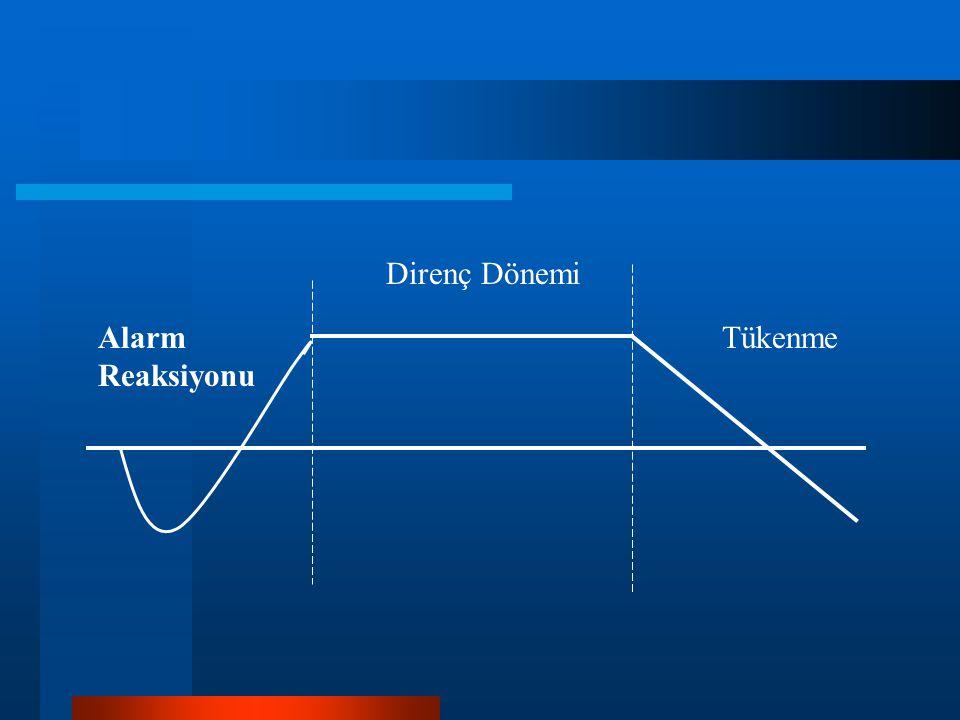 Alarm Reaksiyonu Direnç Dönemi Tükenme