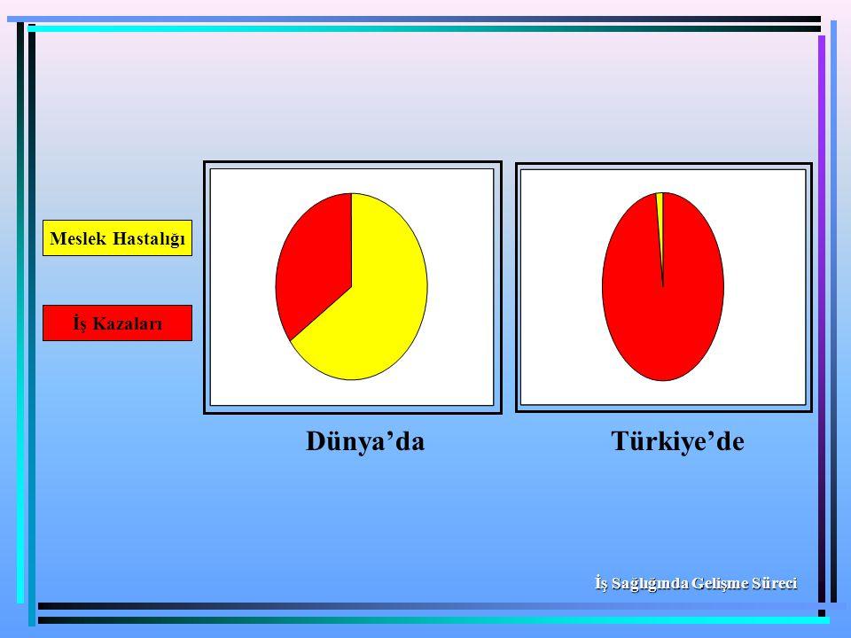Dünya'daTürkiye'de İş Kazaları Meslek Hastalığı İş Sağlığında Gelişme Süreci