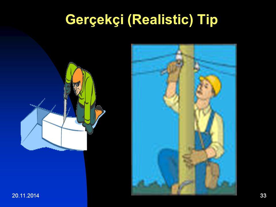 20.11.201433 Gerçekçi (Realistic) Tip