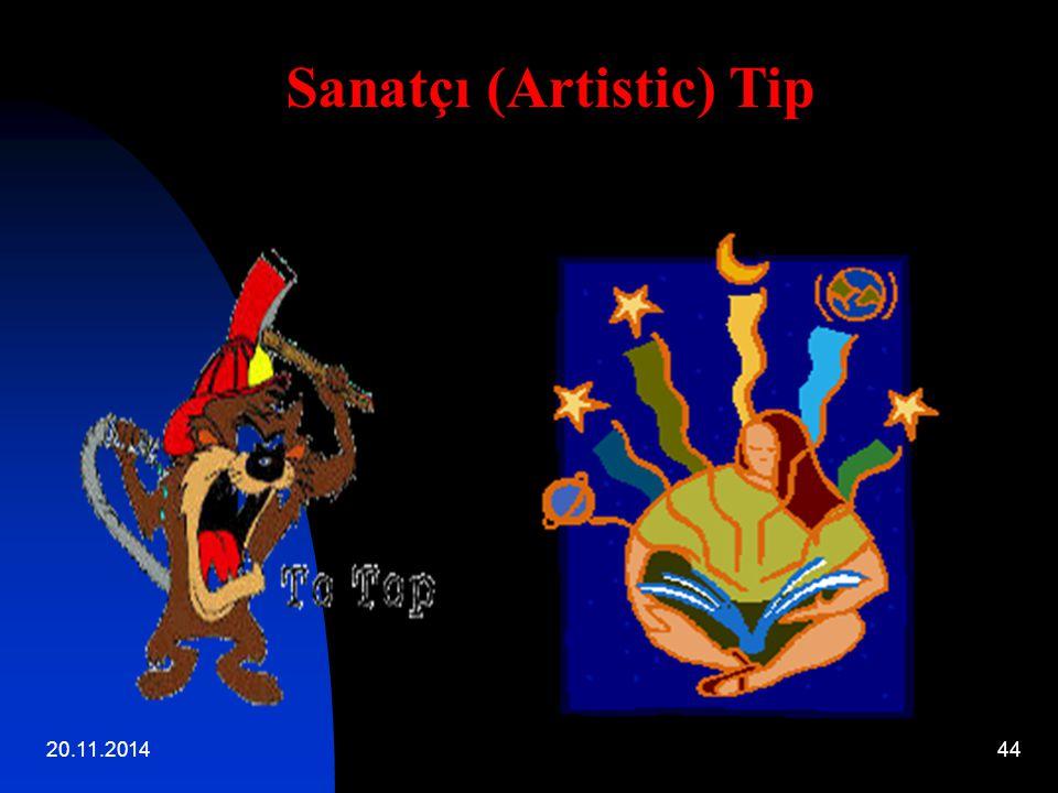 20.11.201444 Sanatçı (Artistic) Tip