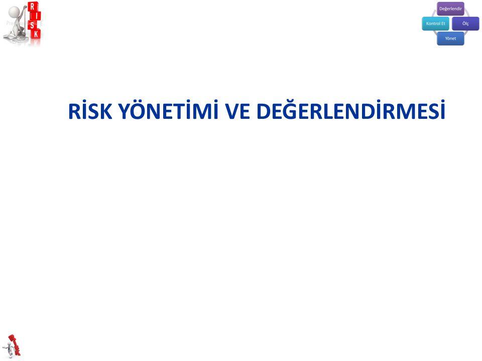 *Risk Değerlendirme uygulaması, 29.12.2012 tarihli 28512 sayılı Resmi Gazete' de yayımlanan İş Sağlığı Güvenliği Risk Değerlendirmesi Yönetmeliği ve 6331 Sayılı İş Sağlığı Güvenliği Kanunu ile uygulamaya girmiştir.