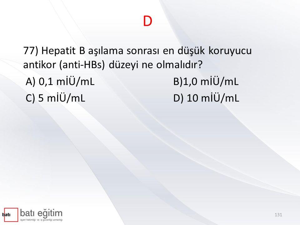 B 78) Aşağıdakilerden hangisi mesleki kontakt dermatitin özellikleri ile ilgili olarak doğrudur.