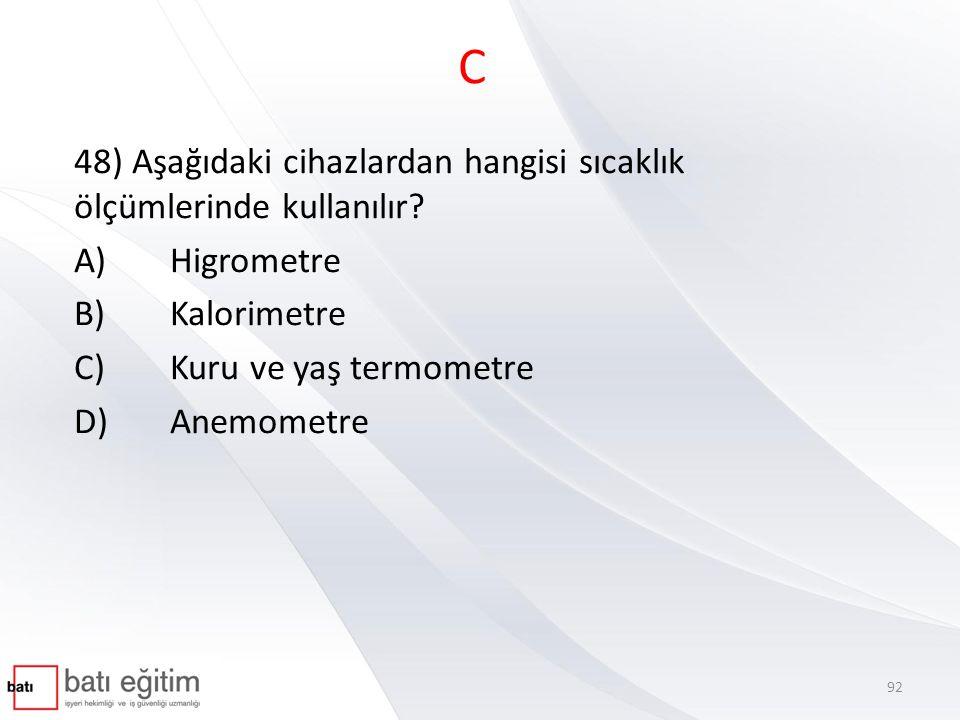 A 49) Kulak zarı ve orta kulak kemiklerinde mesleki maruziyet nedeniyle meydana gelen işitme kaybı aşağıdakilerden hangisi ile tanımlanır.