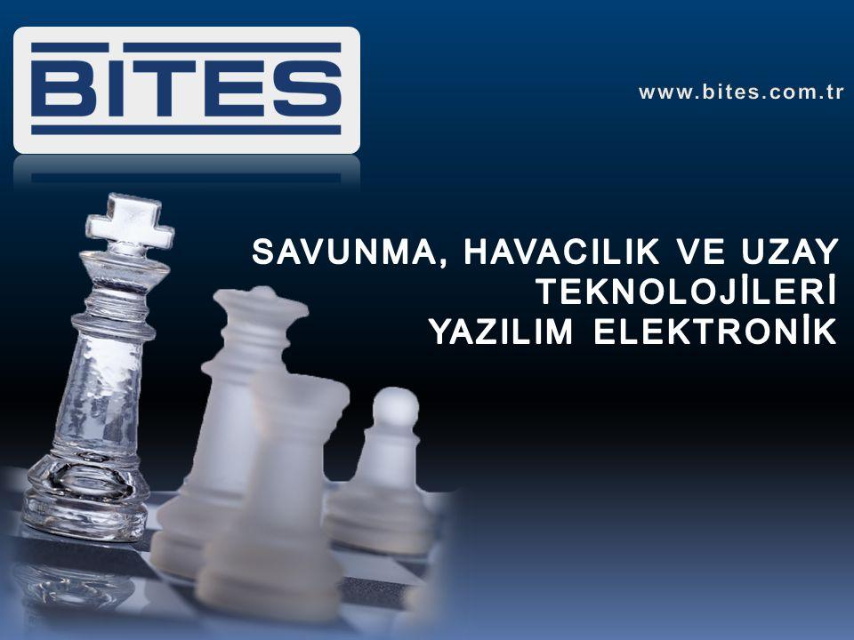 Bilgisayar Tabanlı Eğitim Sistemleri Savunma Teknolojileri Kurumsal Yazılım Çözümleri www.bites.com.tr Firma Tanıtımı Bilişim projelerinde çalışmak üzere, 2001 yılında İstanbul 'da kurulan firmamız, 2005 yılında savunma sanayi sektörüne ilk adımını attı.