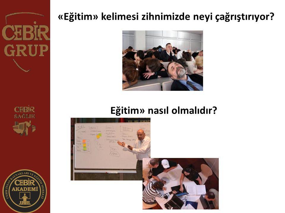 «Eğitim» kelimesi zihnimizde neyi çağrıştırıyor? Eğitim» nasıl olmalıdır?