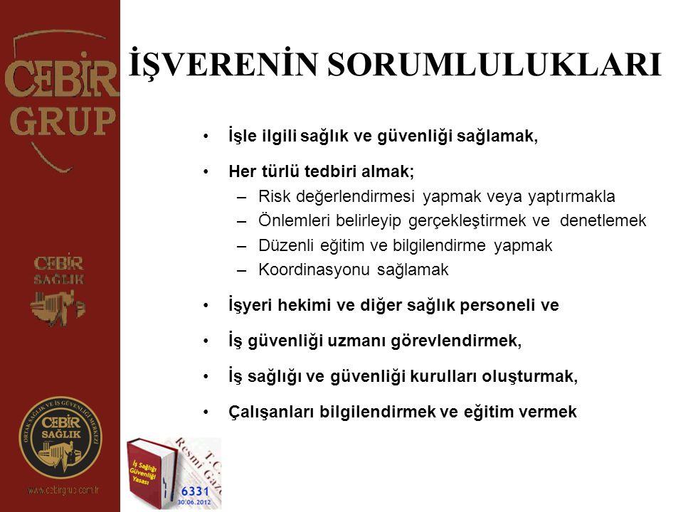 İŞ KAZASI ; 5510 Sayılı Sosyal Sigortalar ve Genel Sağlık Sigortası Kanununun 13.